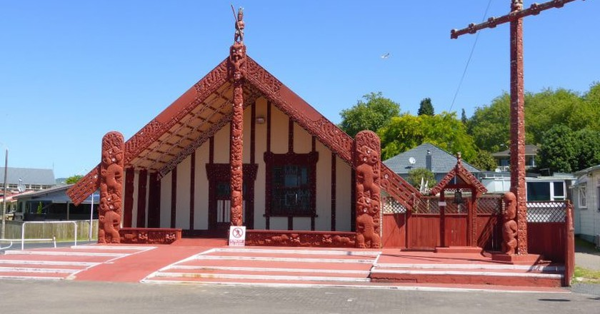 The most recognised Maori architecture