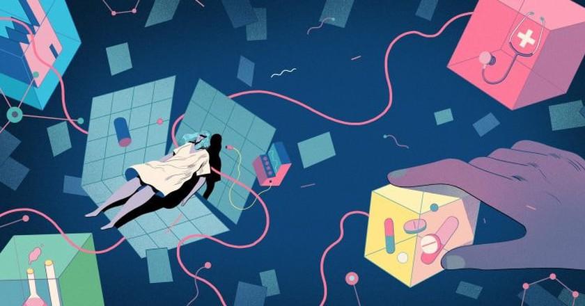 Void Illustration by Rune Fisker