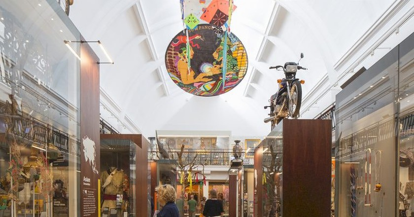 The new World Gallery at the Horniman Museum and Gardens