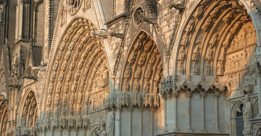 The magnificent cathedral in Bourges