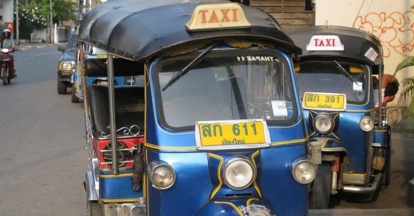 Tuk tuks in Chiang Mai | © shankar s. / Flickr