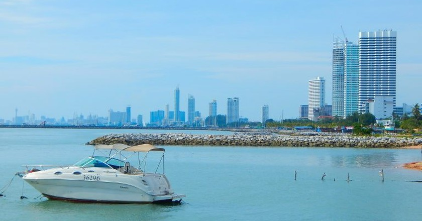 Speedboat in Pattaya