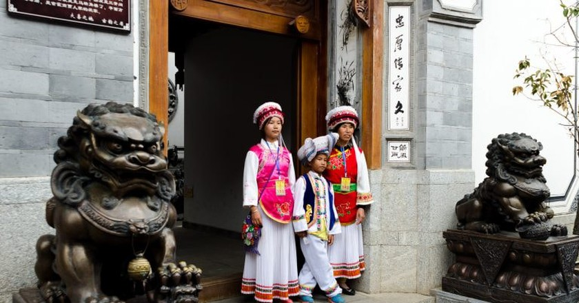 Bai Traditional Dress