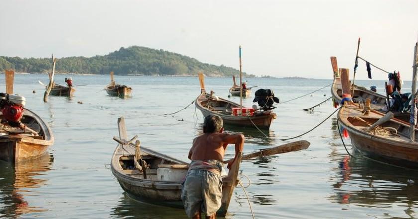 Local boats in Phuket | © Marufish / Flickr