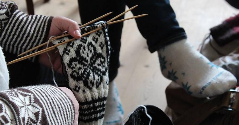 The knitting festival in the Faroes is the cosiest in the world | © Bindifestivalurin í Fuglafirði