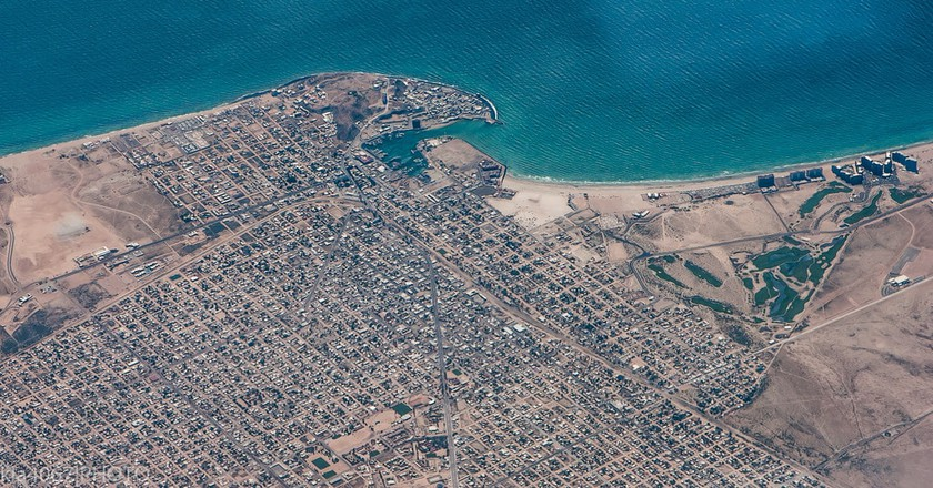 Puerto Peñasco from the air