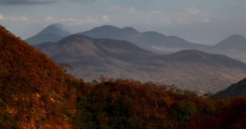 View from Telica, Nicaragua