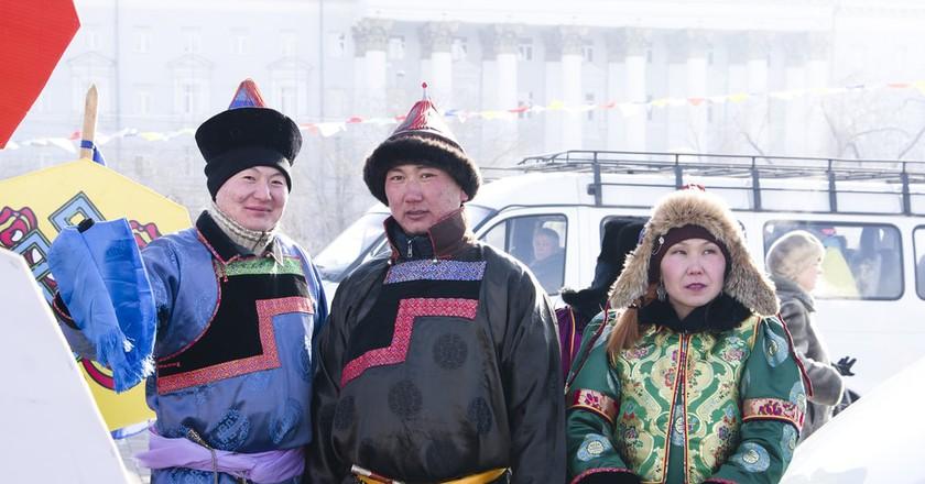Mongolian Buryat People