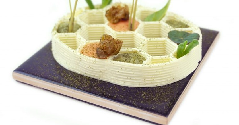 A 3D-Printed Food Restaurant Is Opening in the Netherlands