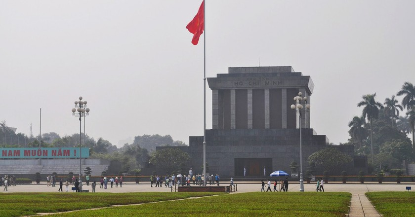 Ho Chi Minh's final resting place| © David McKelvey/Flickr