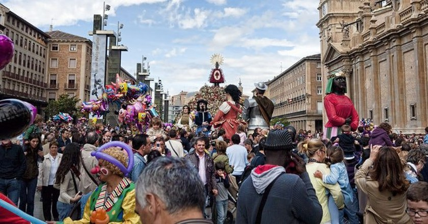 Fiestas del Pilar, Zaragoza