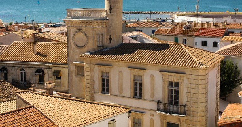 Saintes-Maries-de-la-Mer in the South of France