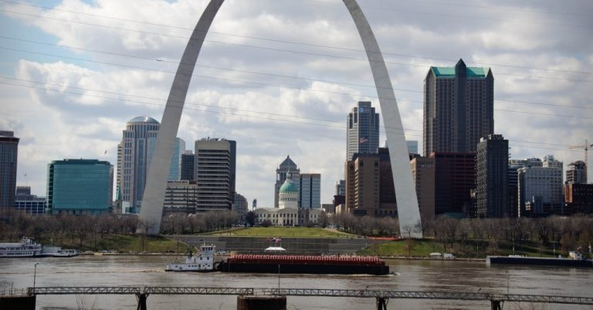 St. Louis is home to the Arch, as well as many culinary delights