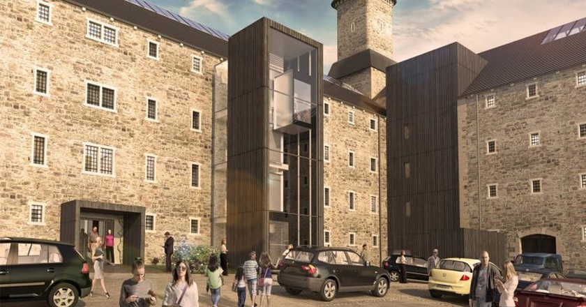 The new look for Bodmin Jail