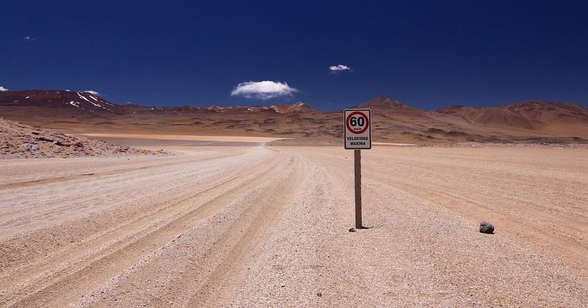 Bolivia Speed Limit   © RomanBader / pixabay
