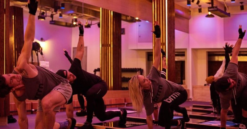 Brrrn Is the World's First Refrigerated Fitness Class