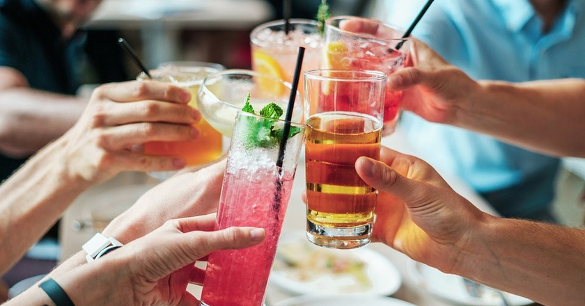 Enjoy cocktails at rooftop bars in Athens