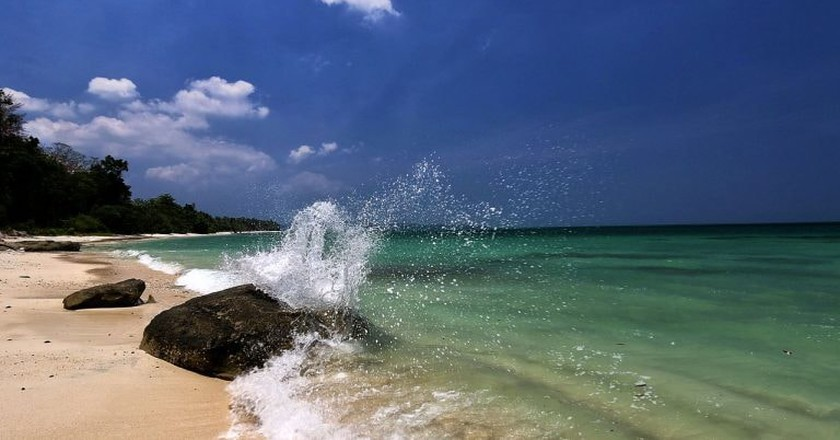 Radhanagar Beach on Havelock Island has been voted among the top 10 in the world