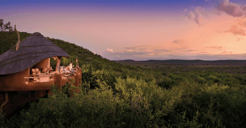 Madikwe's Dithaba Lodge screams luxury