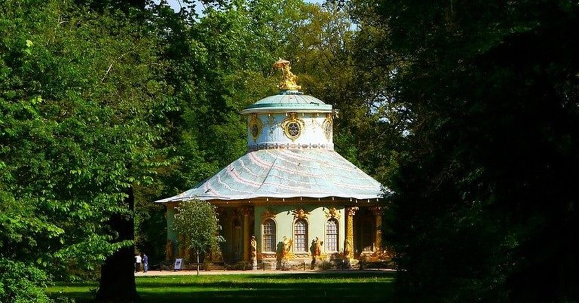 Chinese Grotto, Sanssouci Gardens