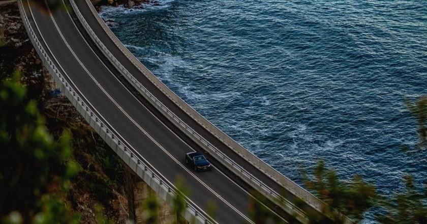 Sea Cliff Bridge on the NSW South Coast