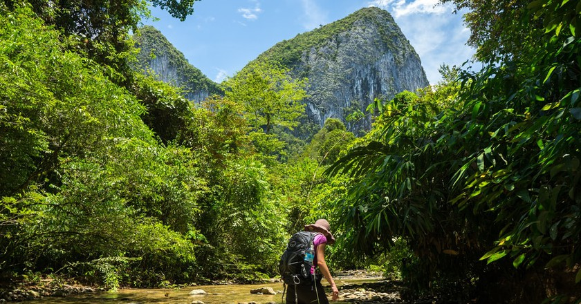 Borneo offers a different backpacking experience in Malaysia