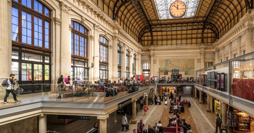 Bordeaux-Midi is the main railway station in Bordeaux, France