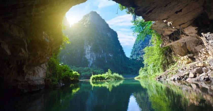 A grotto in Cúc Phương National Park