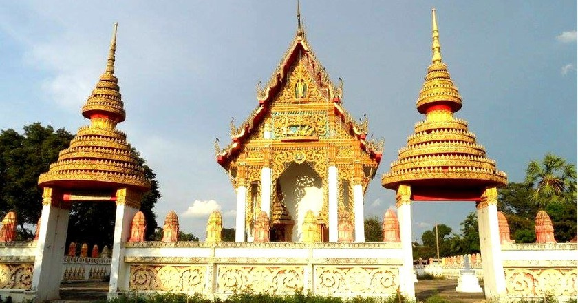 One of Singburi's beautiful temples | © Sarah Williams