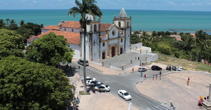The historical town of Olinda is next to Pernambuco's coastline