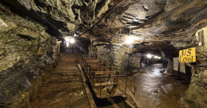 The world's largest gold mine open to the public in Mariana, just outside of Ouro Preto