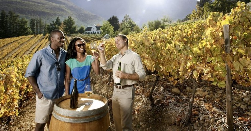 Wine tasting in the Cape | © South African Tourism