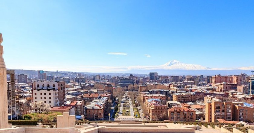 View of Yerevan