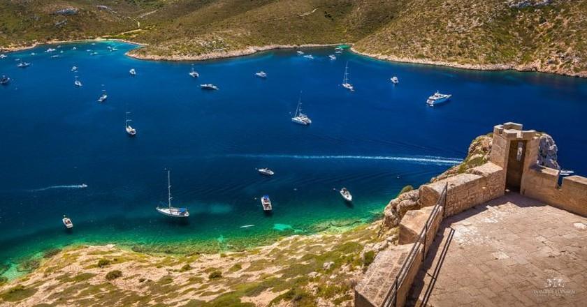 View over Cabrera Island, Mallorca