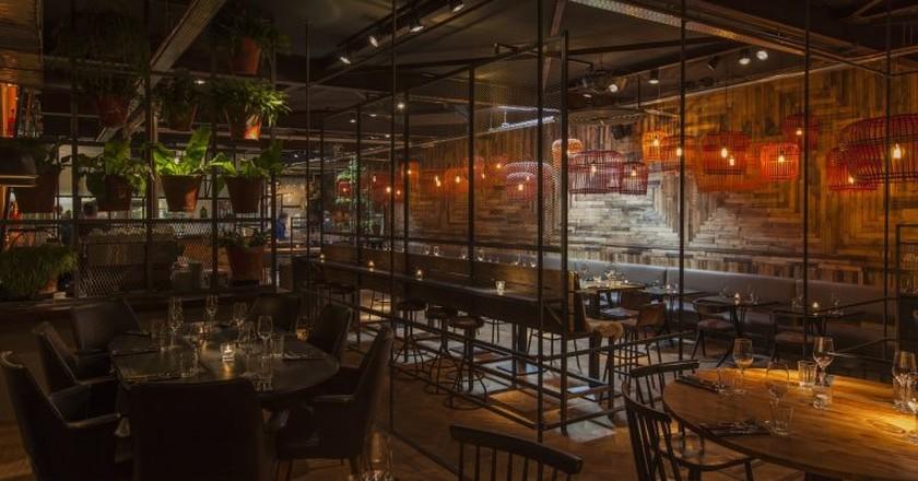 The interior of Café Panache, Amsterdam