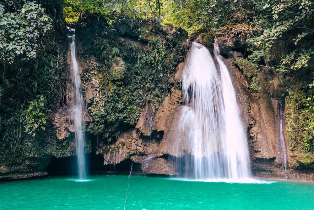 Kawasan waterfall in Cebu