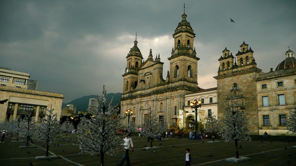 Plaza Bolivar, Bogota