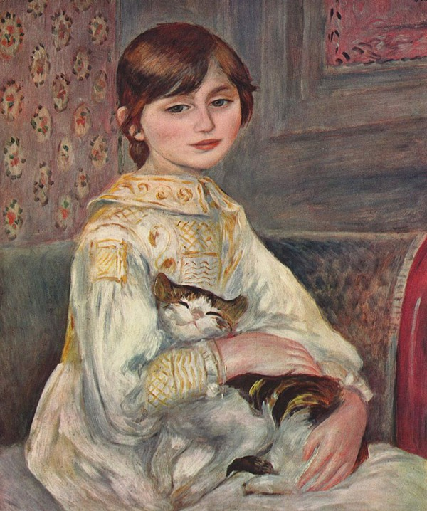 Top 10 Cats Pictured In Famous Art