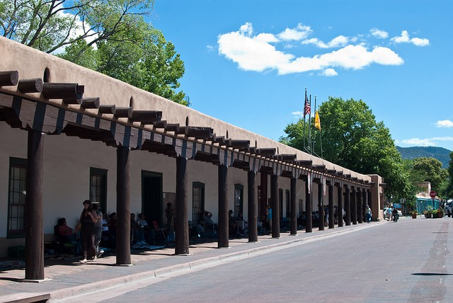 Governor's Palace in Santa Fe