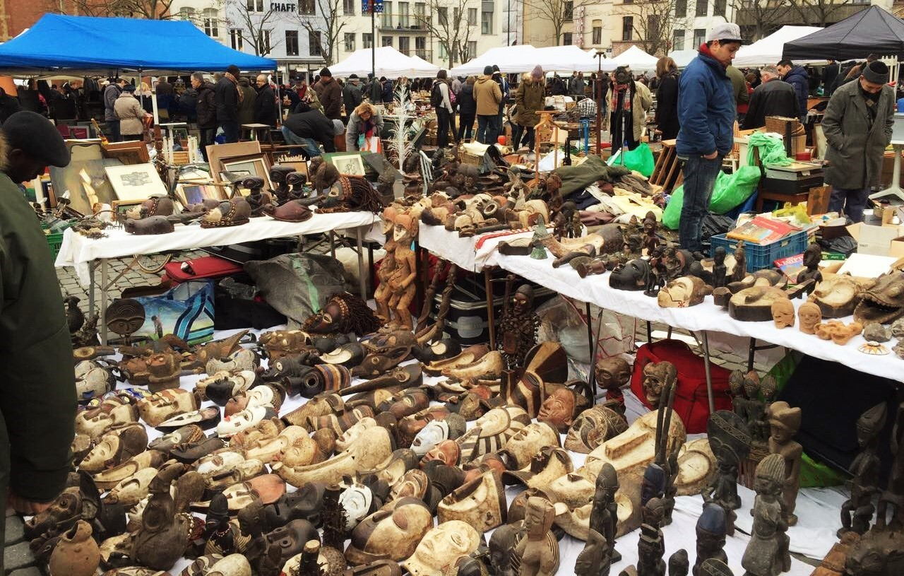 The Complete Guide To The Jeu De Balle Flea Market In Brussels