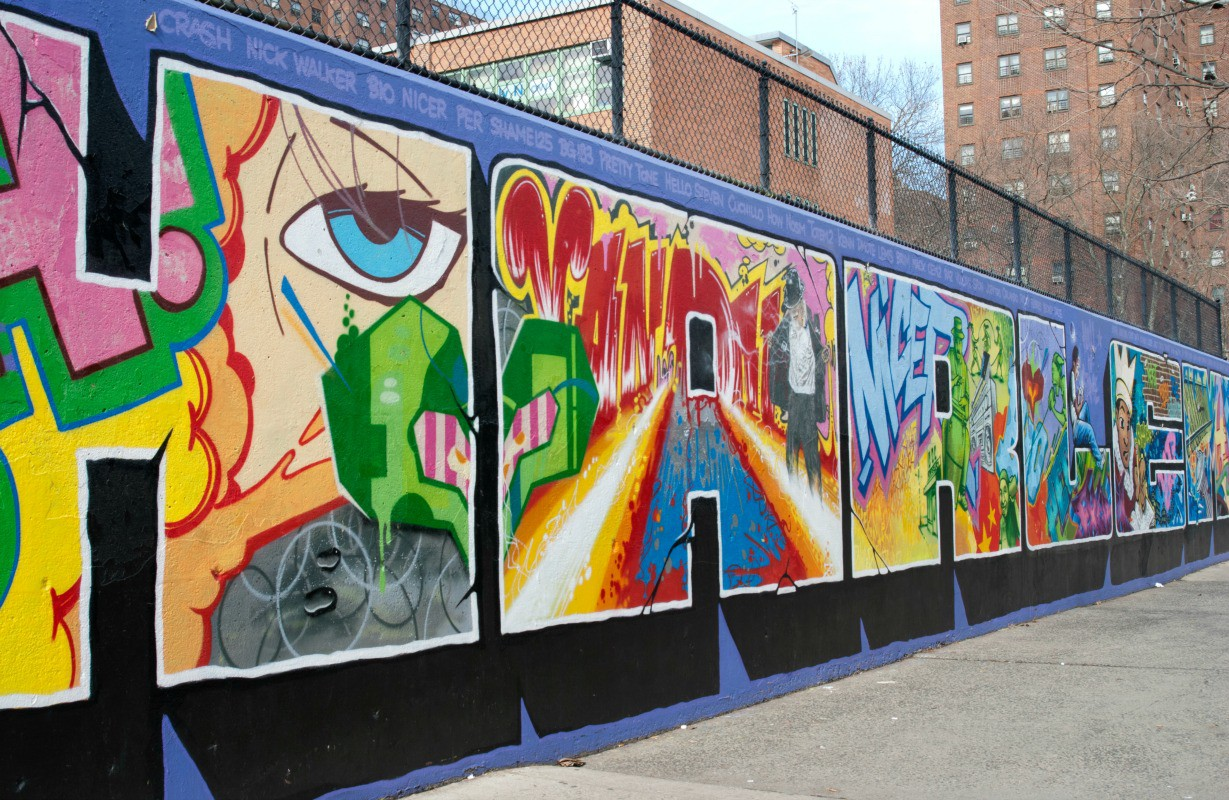Best places to find street art in nyc