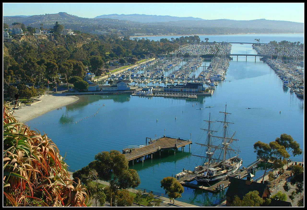 Dana Point Harbor, located next to the Summer Concert Locations Ⓒ Tracie Hall/Flickr
