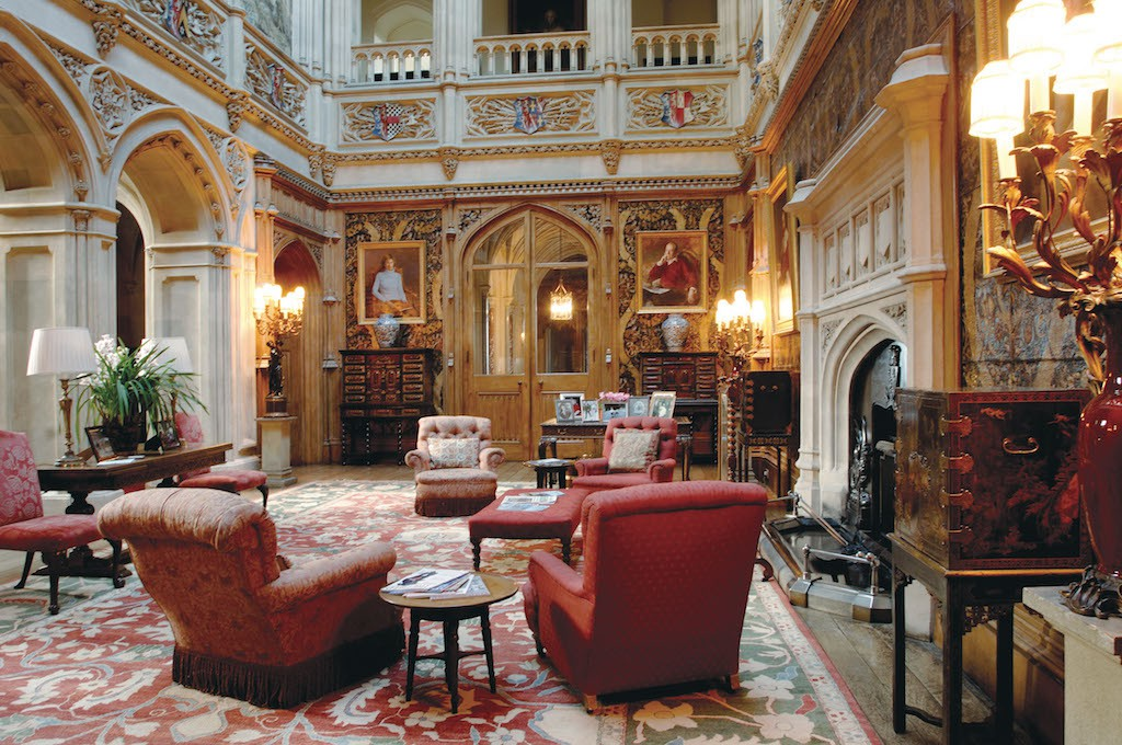 The History Of Highclere Castle, England