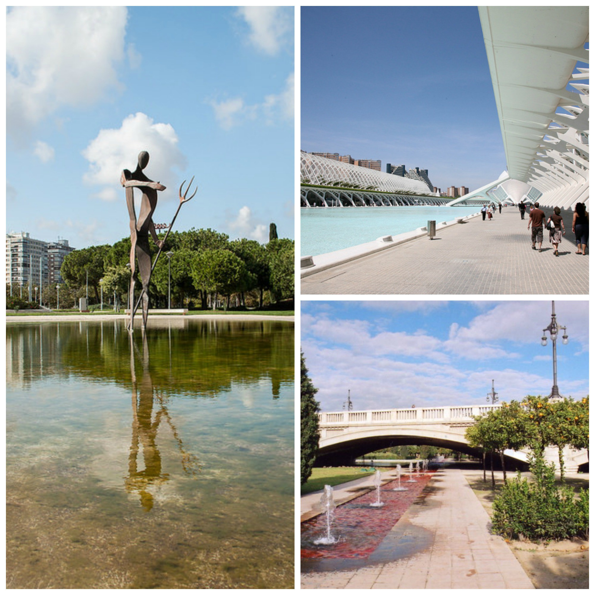 The History Of The Valencian Jardin Del Turia In 1 Minute