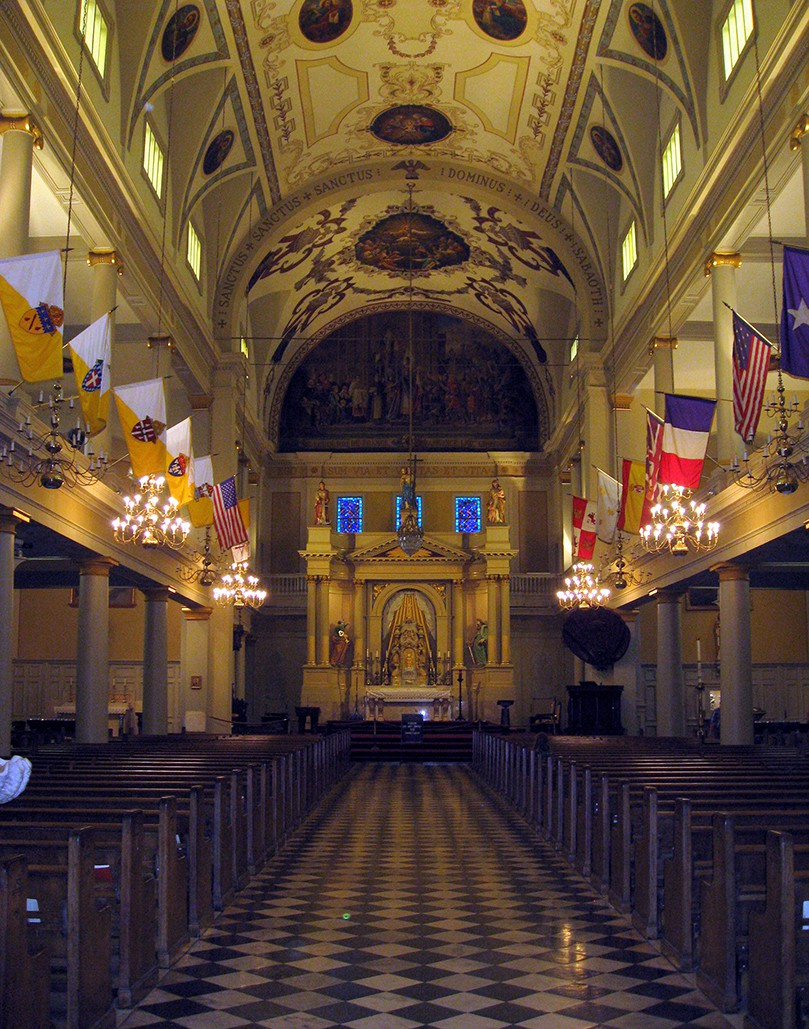 Inside the St. Louis Cathedral|© Jared/Flickr