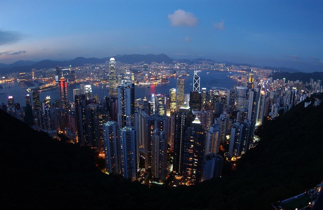 Views of Hong Kong from a half-kilometer skyscraper 82