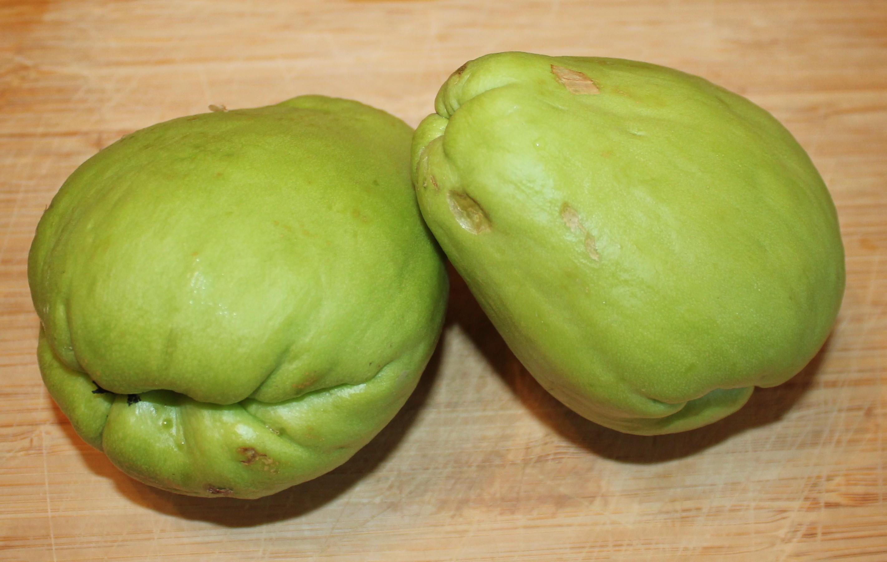 Weird Green Fruits 10