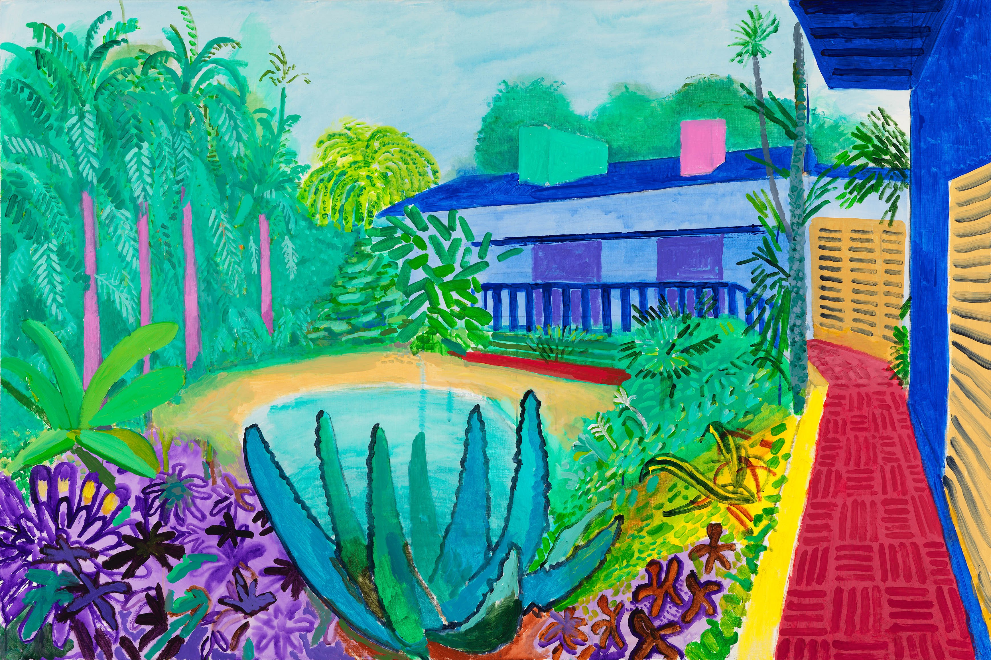 If You Do One Thing in 2017 Make Sure You See David Hockney at Tate Britain