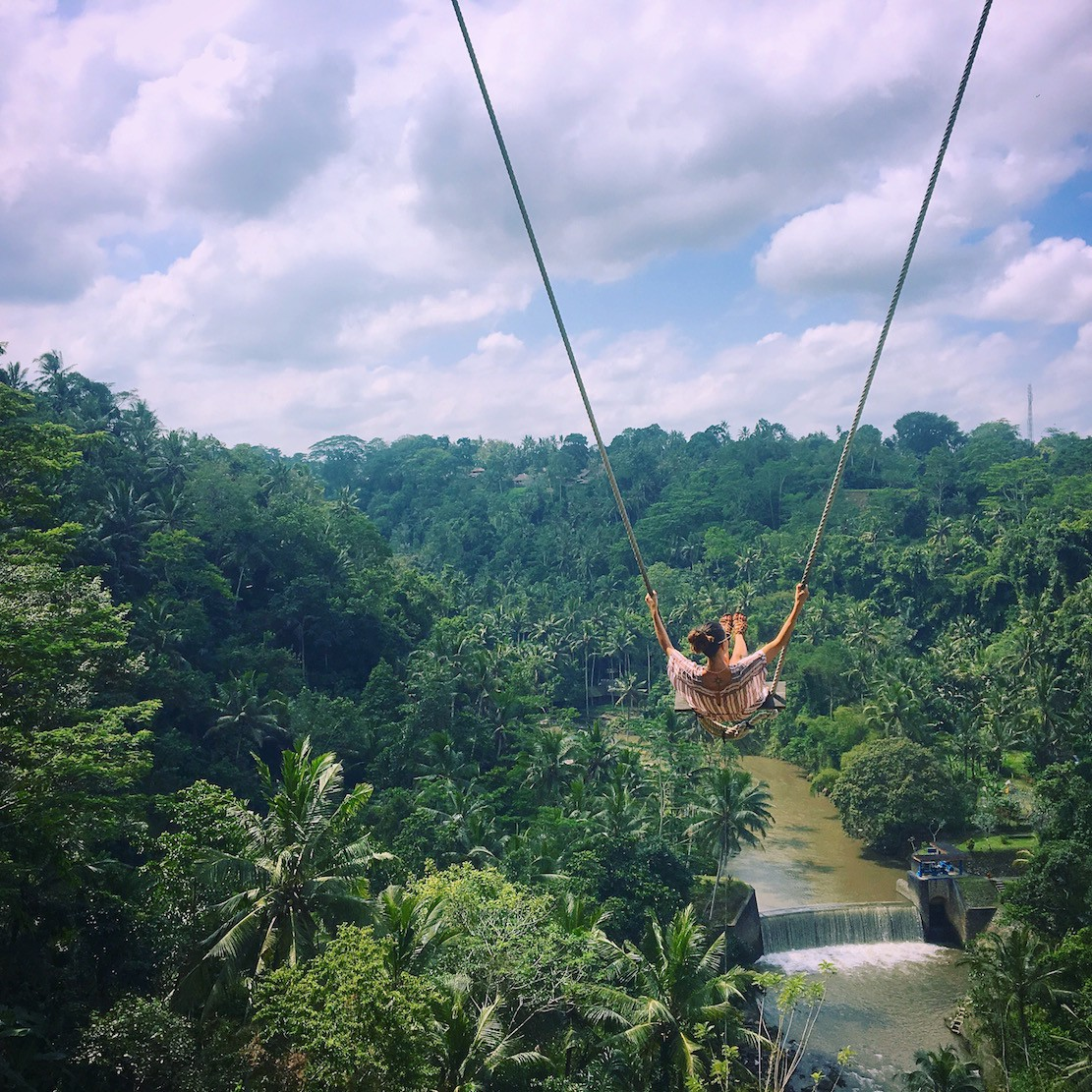 How To Ride The Ubud Swing At Zen Hideaway