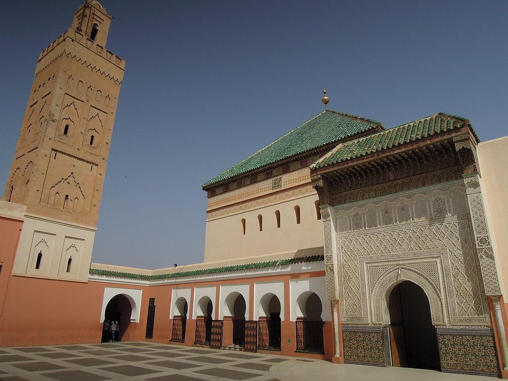 La mosquée de Sidi Belabbes à Marrakech. / Ph. DR